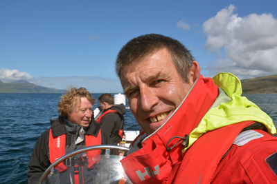 Mike Shepherd, director of SeaMotion and RYA Principal